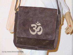 indische Wildleder Tasche OM