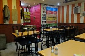 Das Diamond Cafe, irgendwie ohne Kundschaft