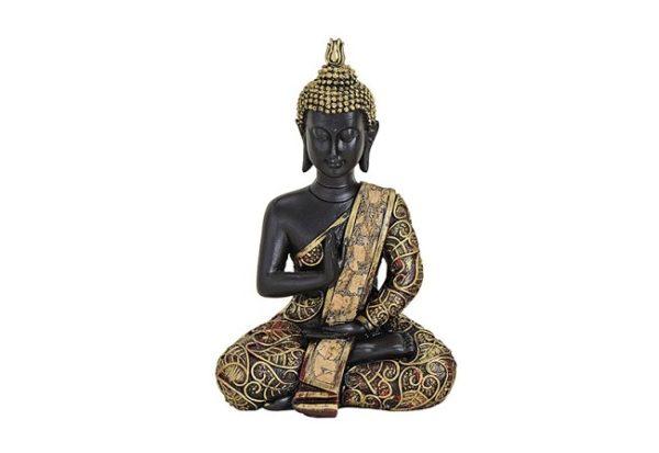 002-10019271-1-Buddha Figur Abhaya Mudra
