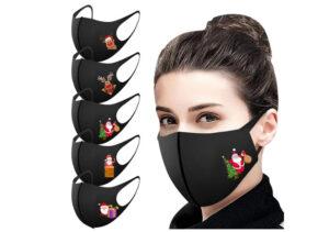 Mundschutz-Maske-christmas